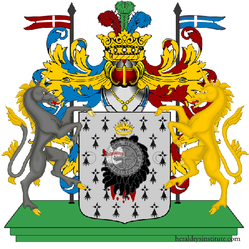 Coat of Arms of family Vensi