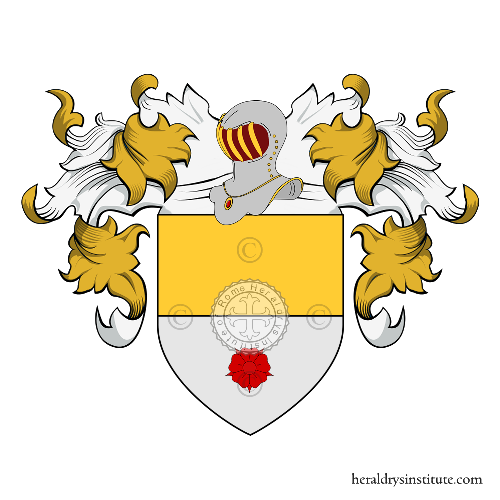 Coat of Arms of family Franco (Venezia)