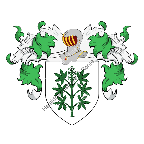 Familien-Wappen Canavesio o Canavosio