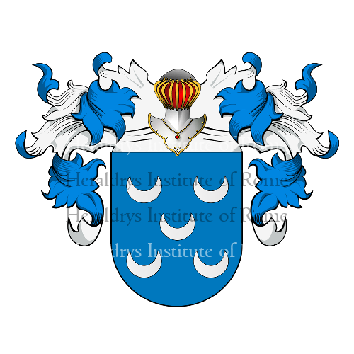 Coat of Arms of family Oliveira