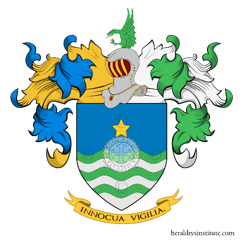 Coat of Arms of family Marelli