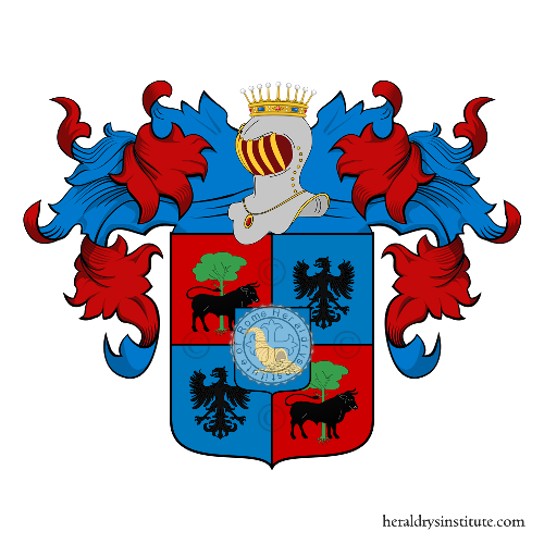 Coat of arms of family Goretti