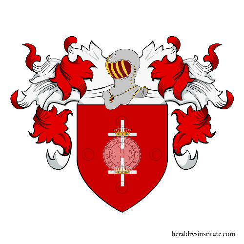 Coat of arms of family Bra