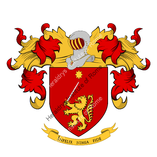Coat of Arms of family Tolentino