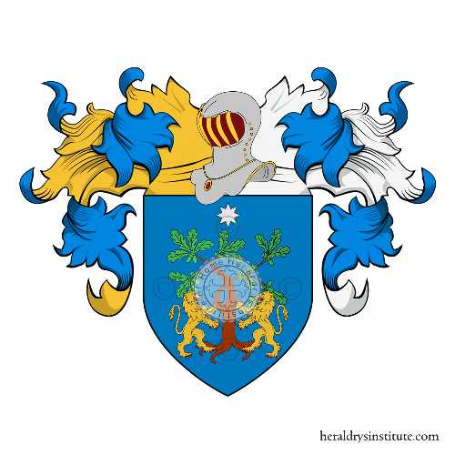 Coat of arms of family Janni