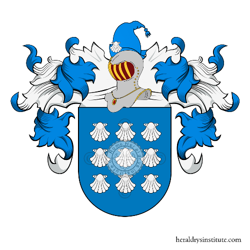 Coat of Arms of family Calçada