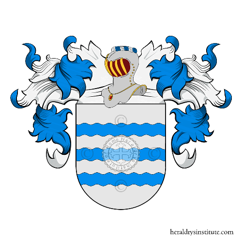 Coat of Arms of family Santos