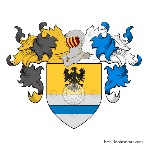 Coat of Arms of family Mori (Bergamo)