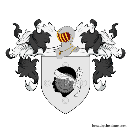 Coat of Arms of family Mori (Cesena)