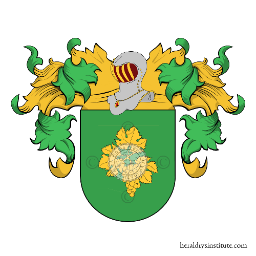 Coat of Arms of family Brugal