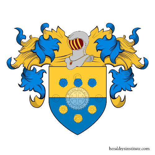 Coat of Arms of family Loredano, Lauredano o Laurendano (Veneto)