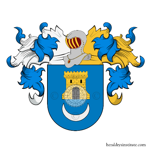Coat of Arms of family Grava