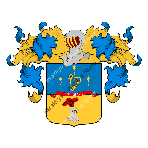 Coat of Arms of family Salmi