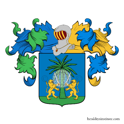 Familien-Wappen Tattoli (south of Italy)