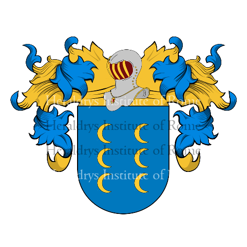 Coat of Arms of family Meireles
