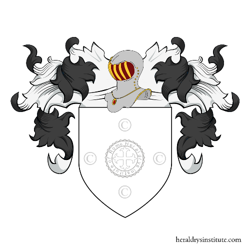 Coat of Arms of family Cremonese Baroncelli
