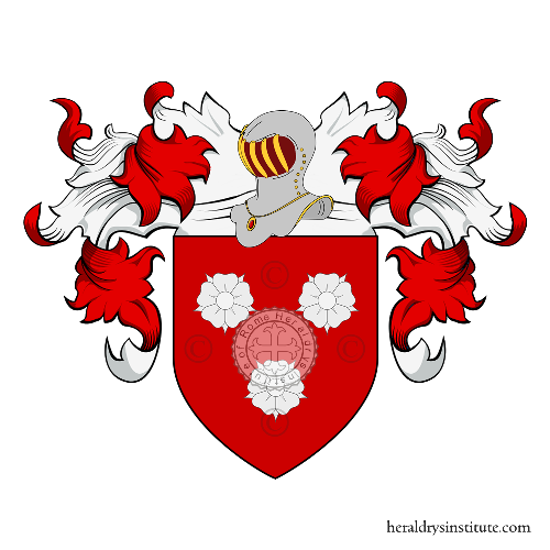 Coat of Arms of family Roze ou Rozée