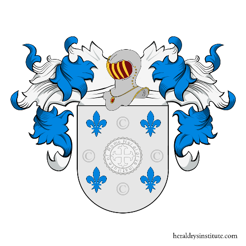 Coat of Arms of family Daguerre