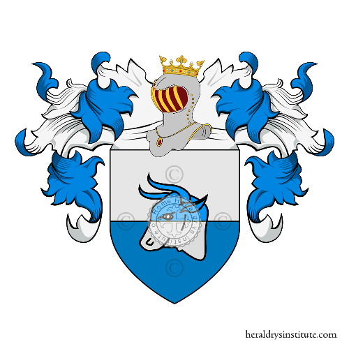 Coat of Arms of family Rigolini o Rigoli
