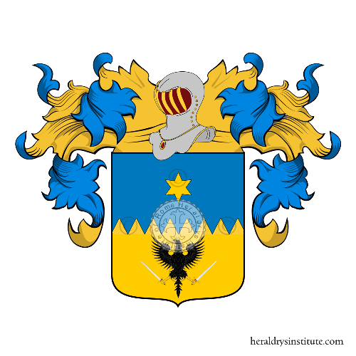Coat of Arms of family Figoli o Rigoli