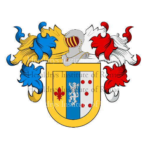 Coat of Arms of family Quintero