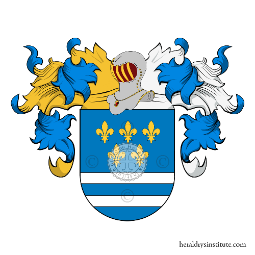 Coat of Arms of family Paneque