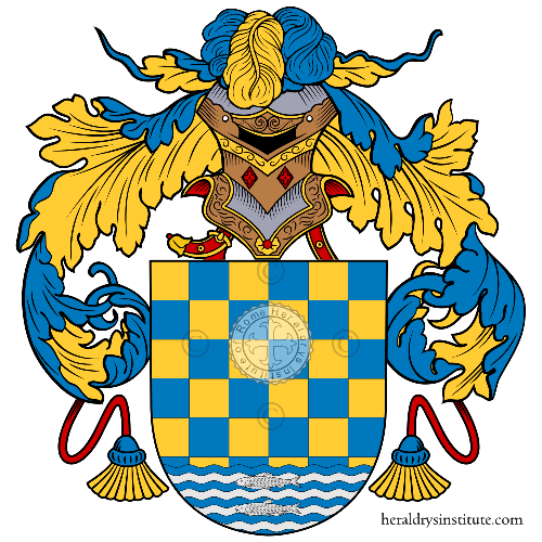 Coat of Arms of family Lago
