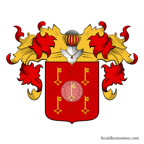 Coat of arms of family Chaves