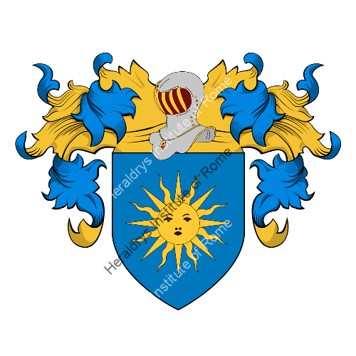 Coat of Arms of family Altemana