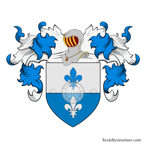 Coat of Arms of family Montini (Castelfranco , Asolo)
