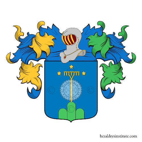 Coat of Arms of family Montini (Lombardia)