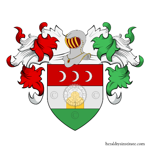 Coat of Arms of family Montini (Bologna)