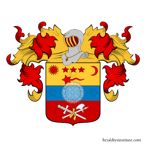 Coat of Arms of family Chiaroni