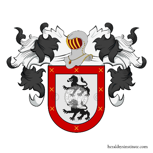 Coat of Arms of family Arnes