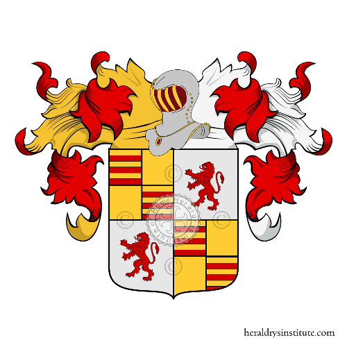 Coat of Arms of family Carroz