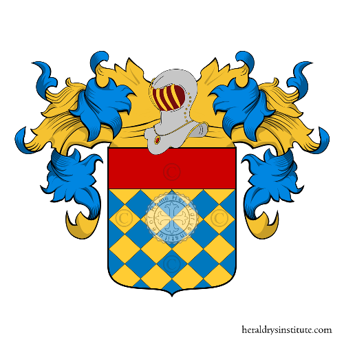 Coat of Arms of family Zaccaria (Verona)