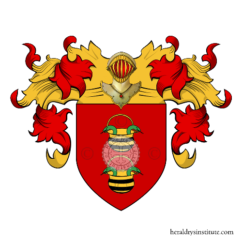 Coat of Arms of family Manriquez