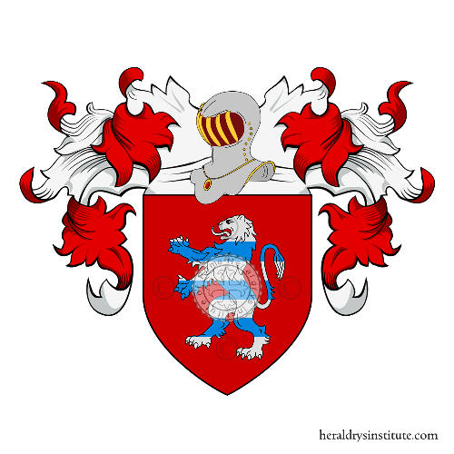 Coat of Arms of family Tempo (del o dal)