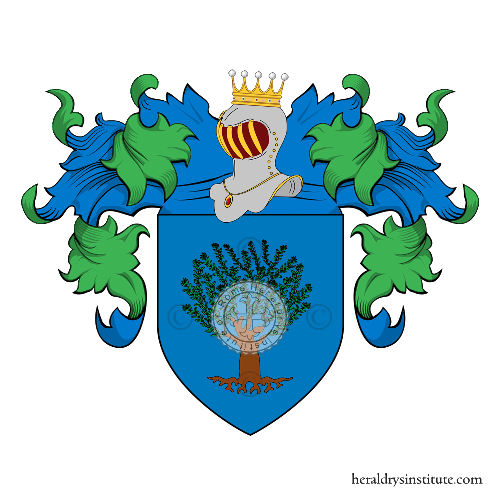 Coat of Arms of family Olivieri (Bologna)