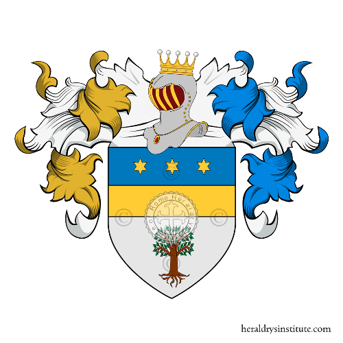 Coat of Arms of family Olivieri (Forlì)