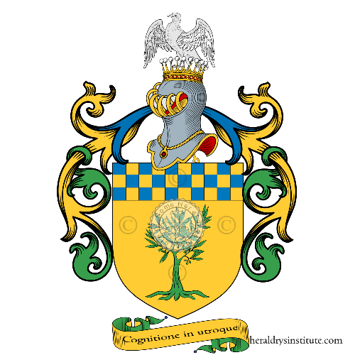 Coat of Arms of family Olivieri (Conti di Venier - Piemonte)