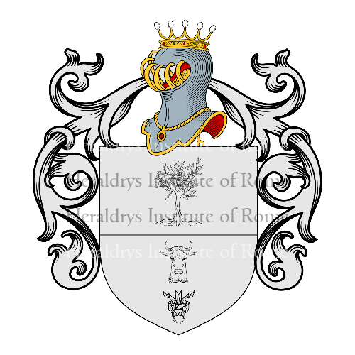 Coat of Arms of family Olivieri (Urbino)