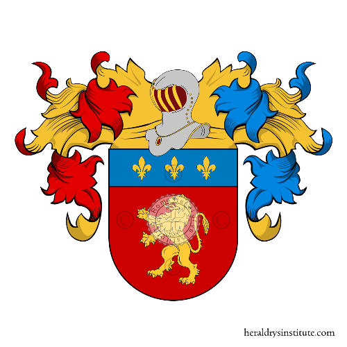 Coat of Arms of family Cavalheiro