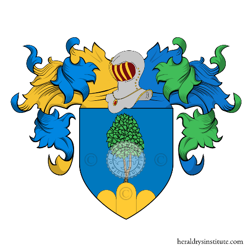 Coat of Arms of family Cimino (Tropea)