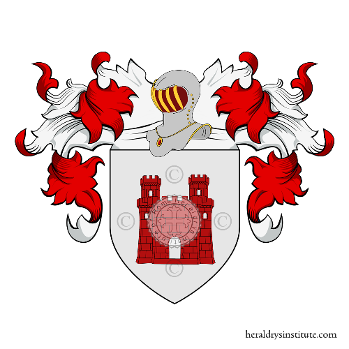 Coat of Arms of family Tarcento