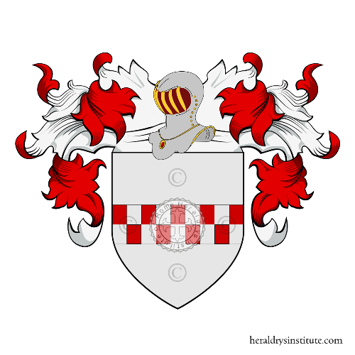 Coat of Arms of family Beltrame