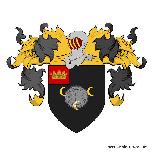 Coat of Arms of family Hodges