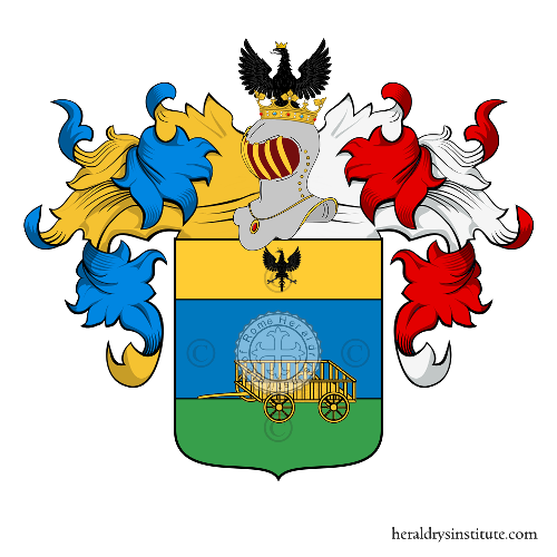 Coat of Arms of family Carocci o Caroca