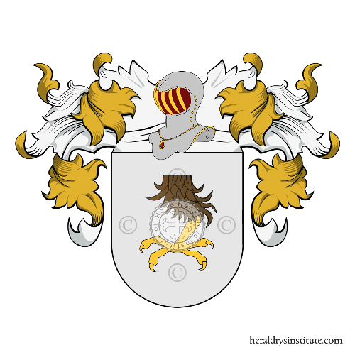 Coat of Arms of family Sansano