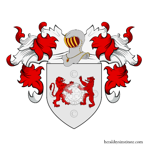 Coat of Arms of family Alami o Alame